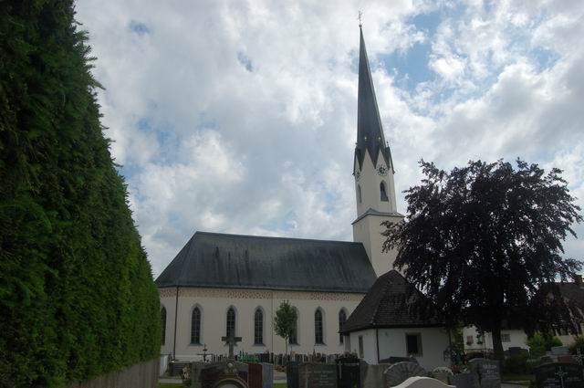 Pfarrkirche vom Norden