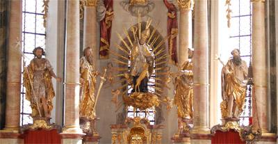 St. Ägidius, Altarfiguren