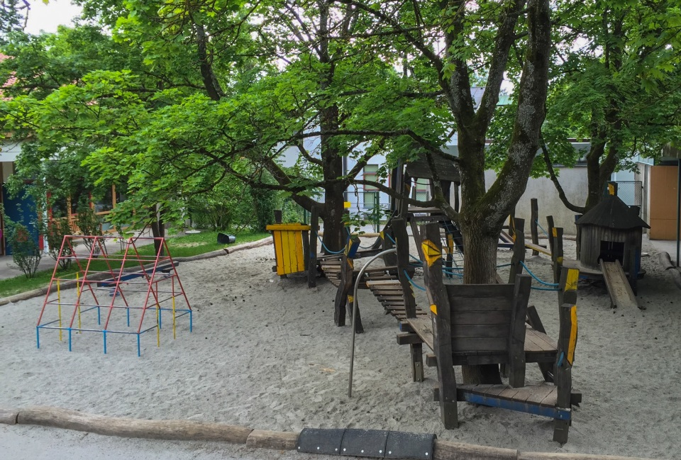 Kindergarten St. Hildegard Spielplatz
