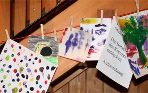 Kunstwerke im Pfarrheim