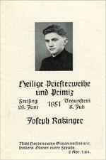 Gedenkbild Ratzinger