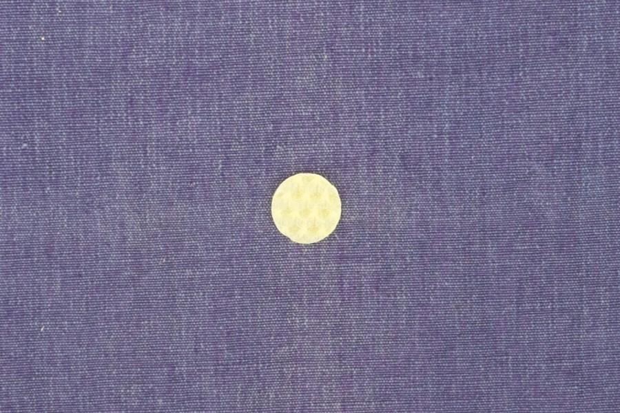 ausgestochener Kreis aus Wachswabenplatte