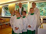 Neue Ministranten in St. Otto