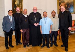 Kardinal Marx trifft philippinische Bischöfe