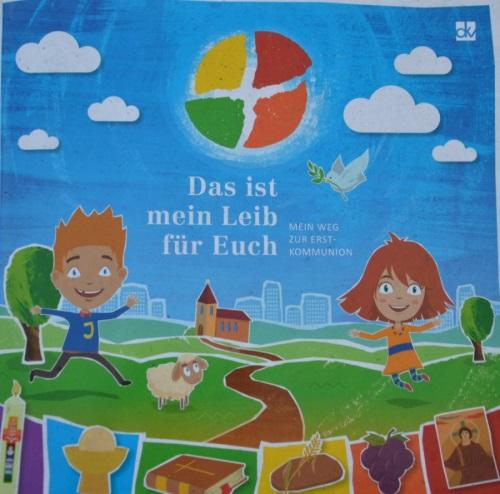 Cover Materialien Erstkommunionkatechese-Kinderbuch