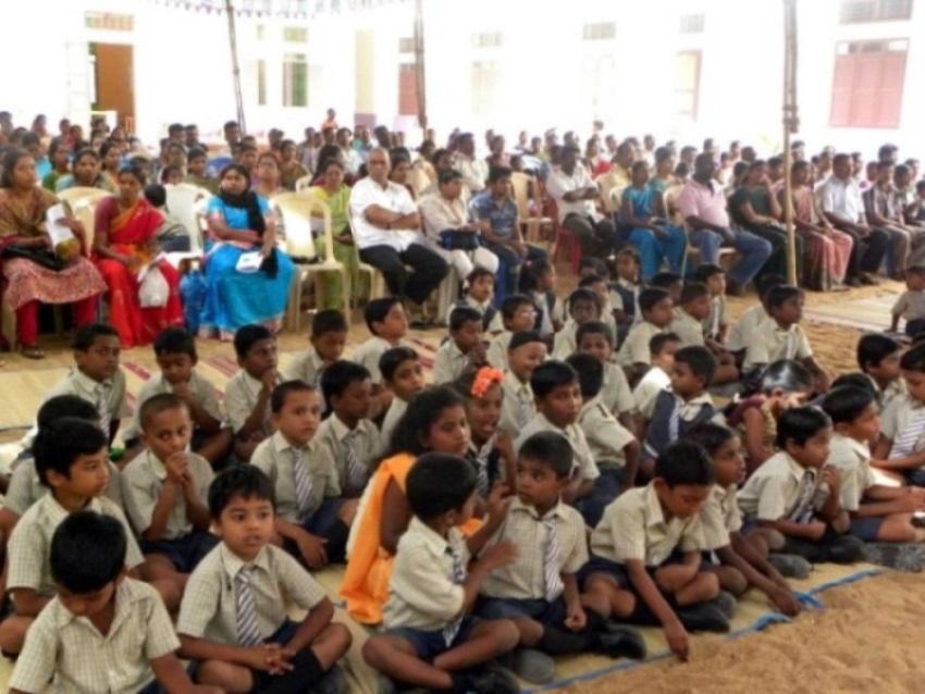 Für die Schüler des Anbaham Kinderdorfes beginnt der Unterricht