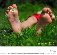 Sommerpfarrbrief 2016 Titelseite