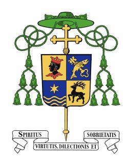 Wappen von Weihbischof Rupert Graf zu Stolberg
