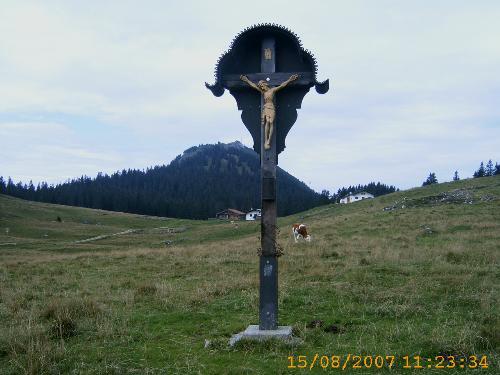Feldkreuz auf der Riesenalm