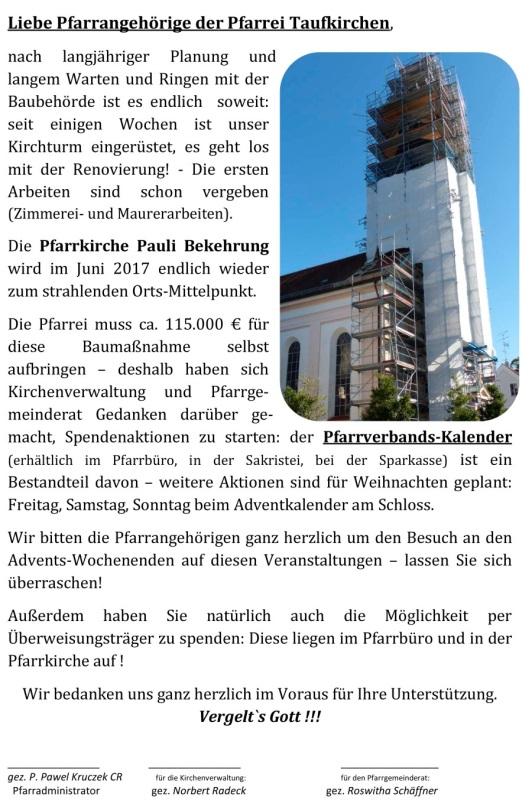 PVT_Spendenaufruf_Kirchturm