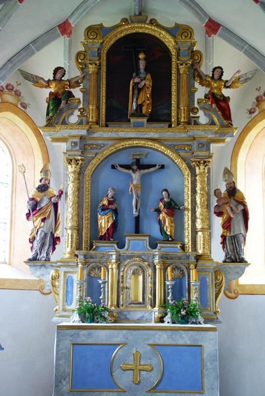 Icking Alte Kirche, Altar