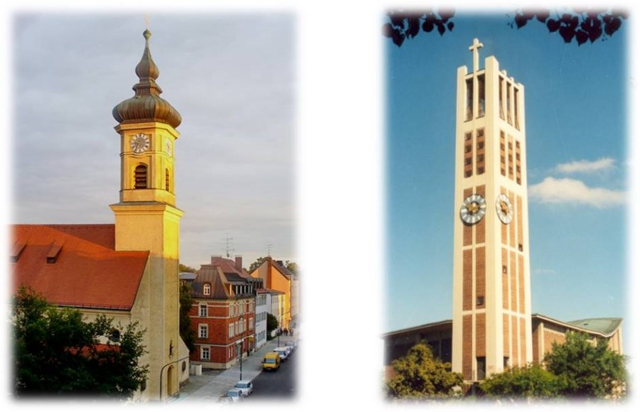 St. Achaz und St. Thomas Morus
