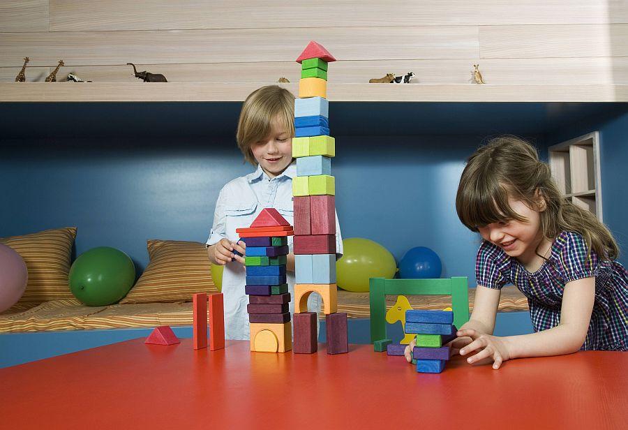 Kinder bauen