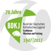 Logo 70 Jahre BDKJ