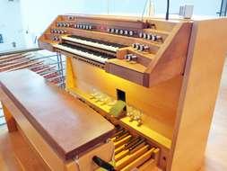 Orgelspieltisch Heilig Kreuz Dachau
