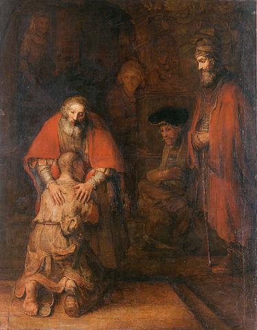 Rembrandt Verlorener Sohn