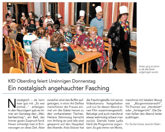 2017-02-23_Pressebericht_Fasching_kfd_Oberding_Oberdinger_Kurier_03