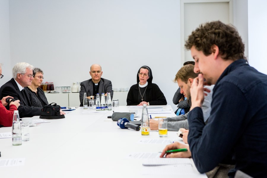 Pressekonferenz, Februar 2017