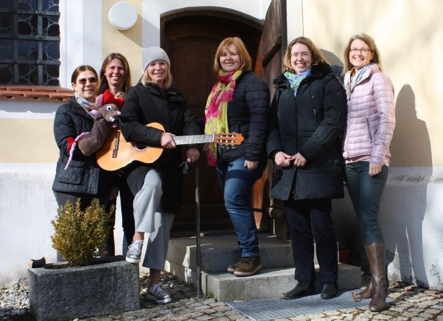Kinderkirche Langenpreising Team