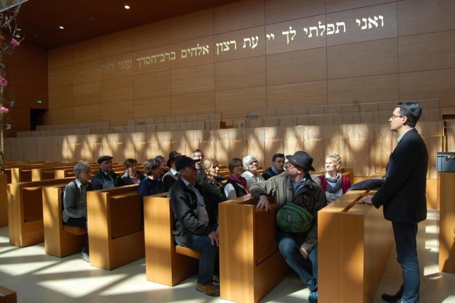 Besuch Ohel Jakob Synagoge