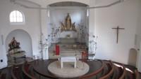 St. Otto innen geschmückt
