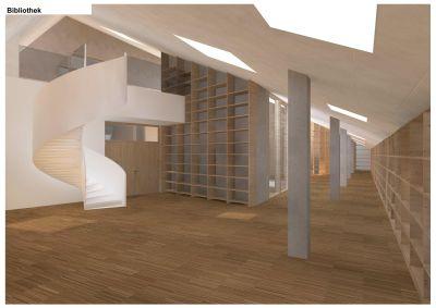 St.-Irmengard-Schulen Garmisch, Bibliothek