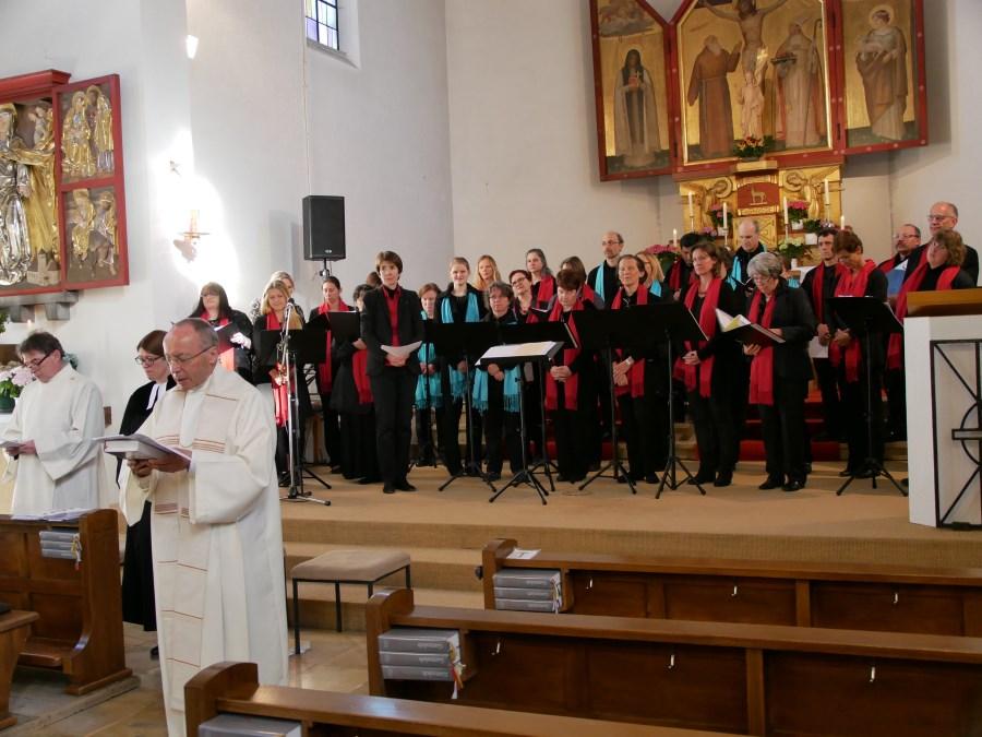 Abschlussandacht in St. Konrad am 7. Haarer Kirchentag