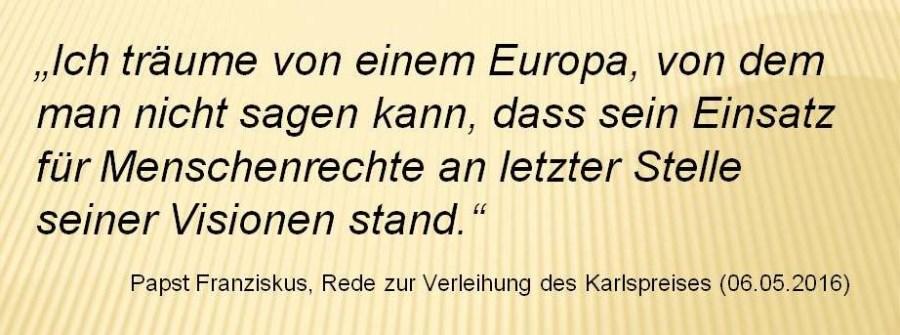 Europa - Menschenrechte
