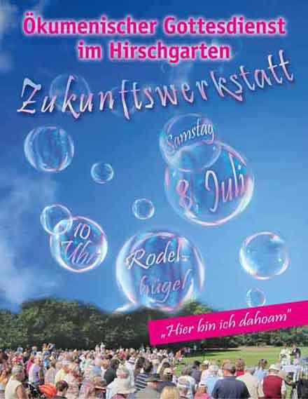Hirschgartengottesdienst 2017 Flyer
