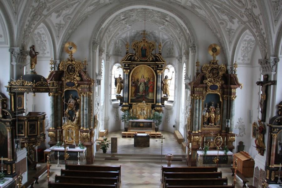 Kirche renoviert 2017