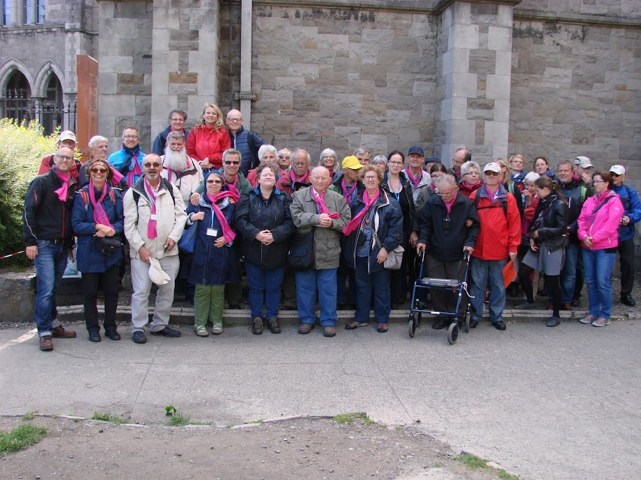 Gruppenfoto vor Christchurch