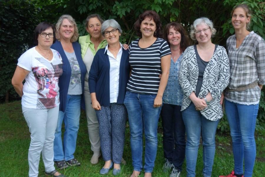 Vorstandschaft Frauen St. Laurentius Altmühldorf