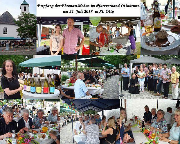 Bilderserie Ehrenamtlichenempfang im PV Ottobrunn am 21.07.2017