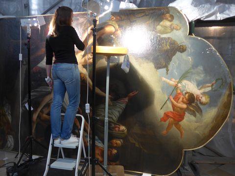 Altarbildrenovierung2