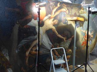 Altarbildrenovierung3