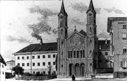 Histoire st Anna Klosterkirche