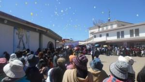 Jahrtag Luftballons