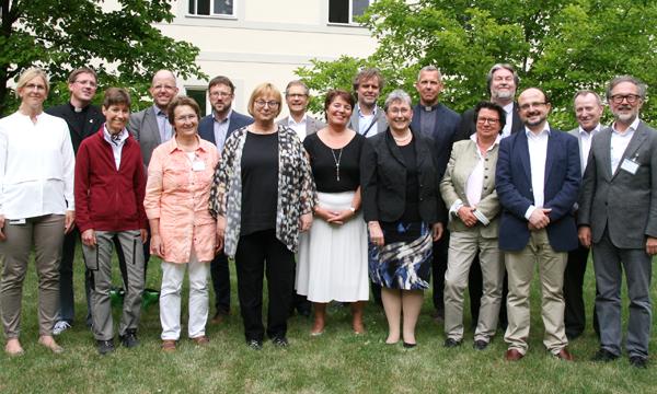 Mitglieder der XII. Diözesankommission für Ökumene