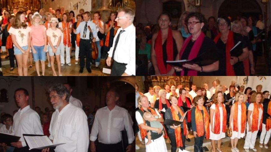 Chorkonzert des Beuerberger Kirchenchors mit dem Gospelchor Pastetten