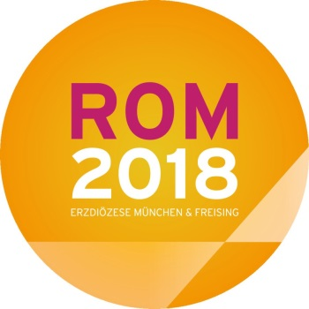 Aufkleber Moniwallfahrt Rom 2018