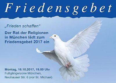Friedensgebet 2017