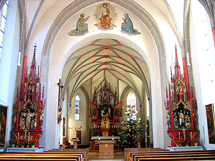 Innenansicht St. Johannes