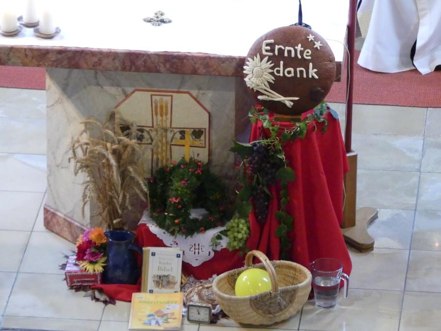 Altar Erntedank 2017