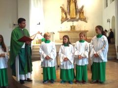 Ministranteneinführung 2017 in St. Otto