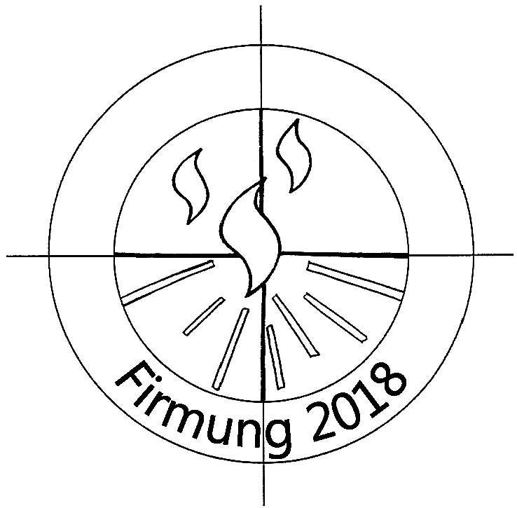 Logo Firmung 2018