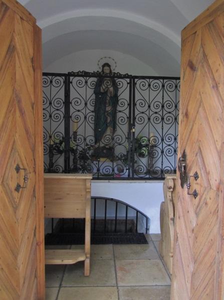 Wasserkapelle innen