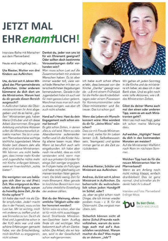 2017-10-13_Pressebericht_Ehrenamt_Pfarrgemeinderat_Oberdinger_Kurier_03