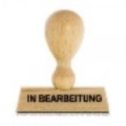 Stempel in Bearbeitung