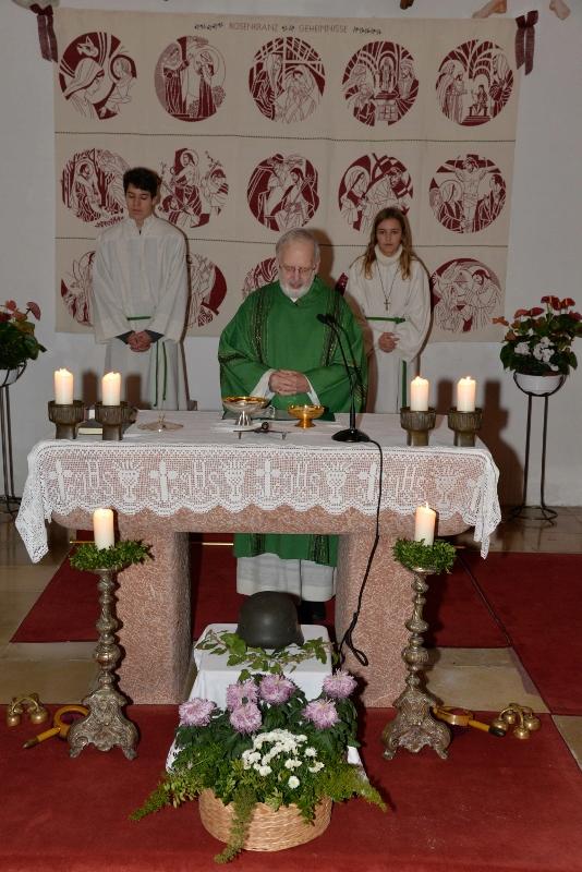 Eixenberger bei der Gottesdienstfeier