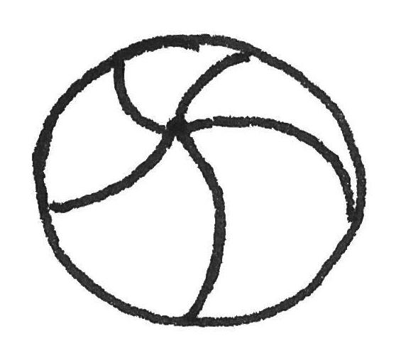 Ball Kinderzeichnung
